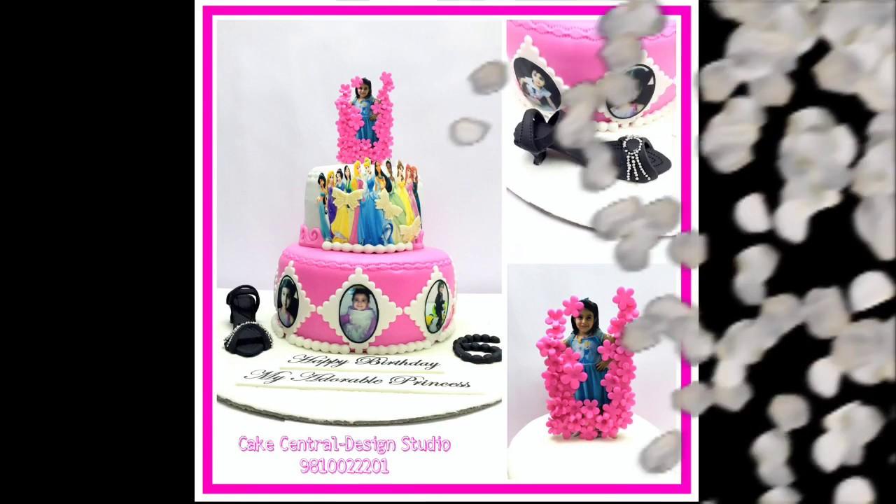 Disney Princess Cake In Delhi Ncr Birthday Cakes For Girls Buy