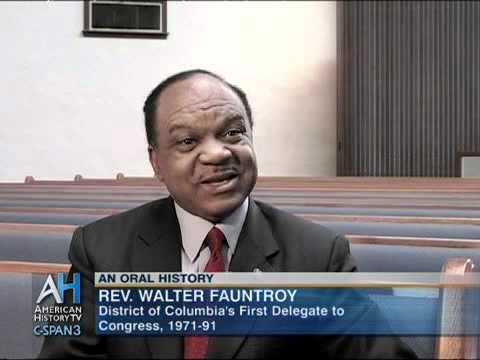 Oral Histories: Walter Fauntroy