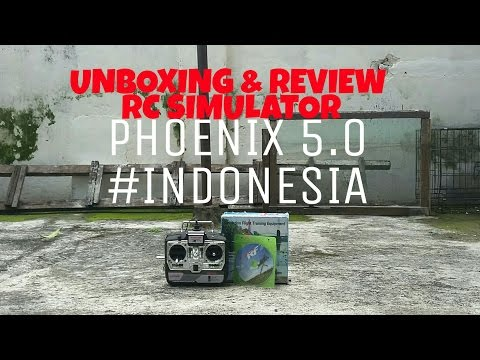Phoenix rc simulator Review & Unboxing #INDONESIA
