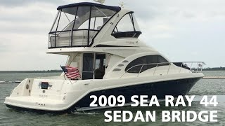 2009 Sea Ray 44 Sedan Bridge For Sale at MarineMax Dallas Yacht Center