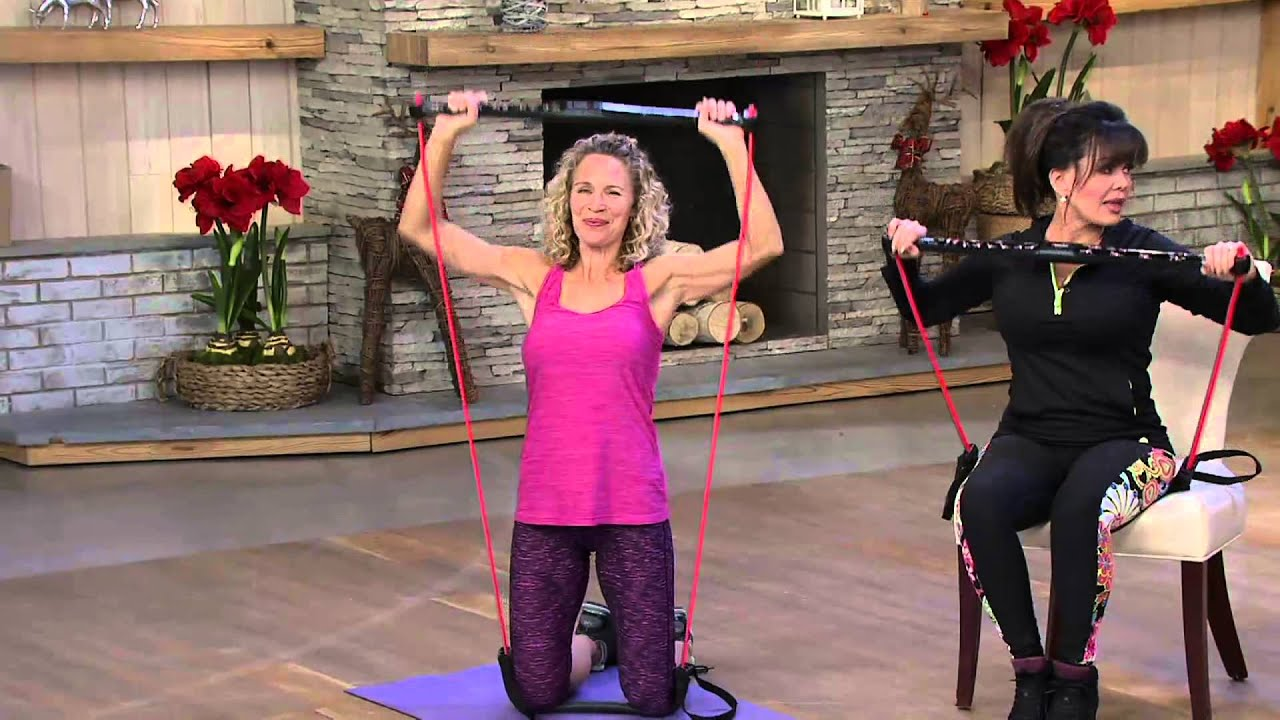 BodyGym Portable Home Gym Resistance System On QVC