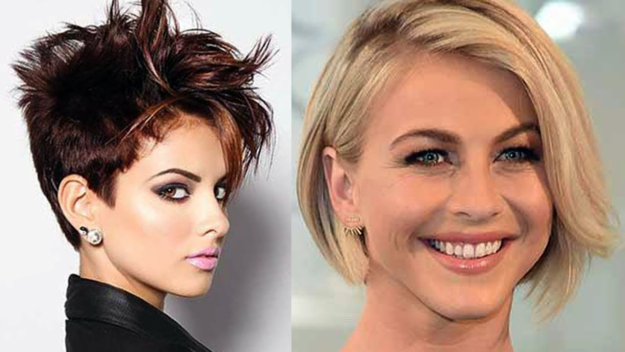 Most Beautiful Short Haircut Hairstyles Videos For Women How To Style Short Hair Youtube