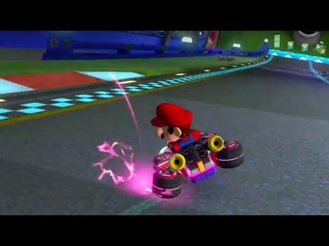 Mario Kart 8 Deluxe Official Mini-Turbo Tutorial Trailer