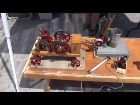 NEW model engine builders(Part1)  Wisconsin Maritime Museum 070413
