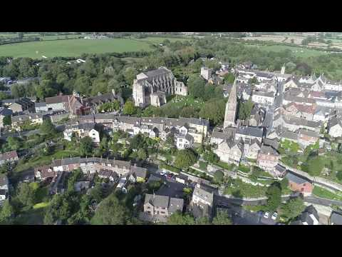 """Malmesbury, Wiltshire by Drone.....my technique is a """"work in progress"""" !!"""