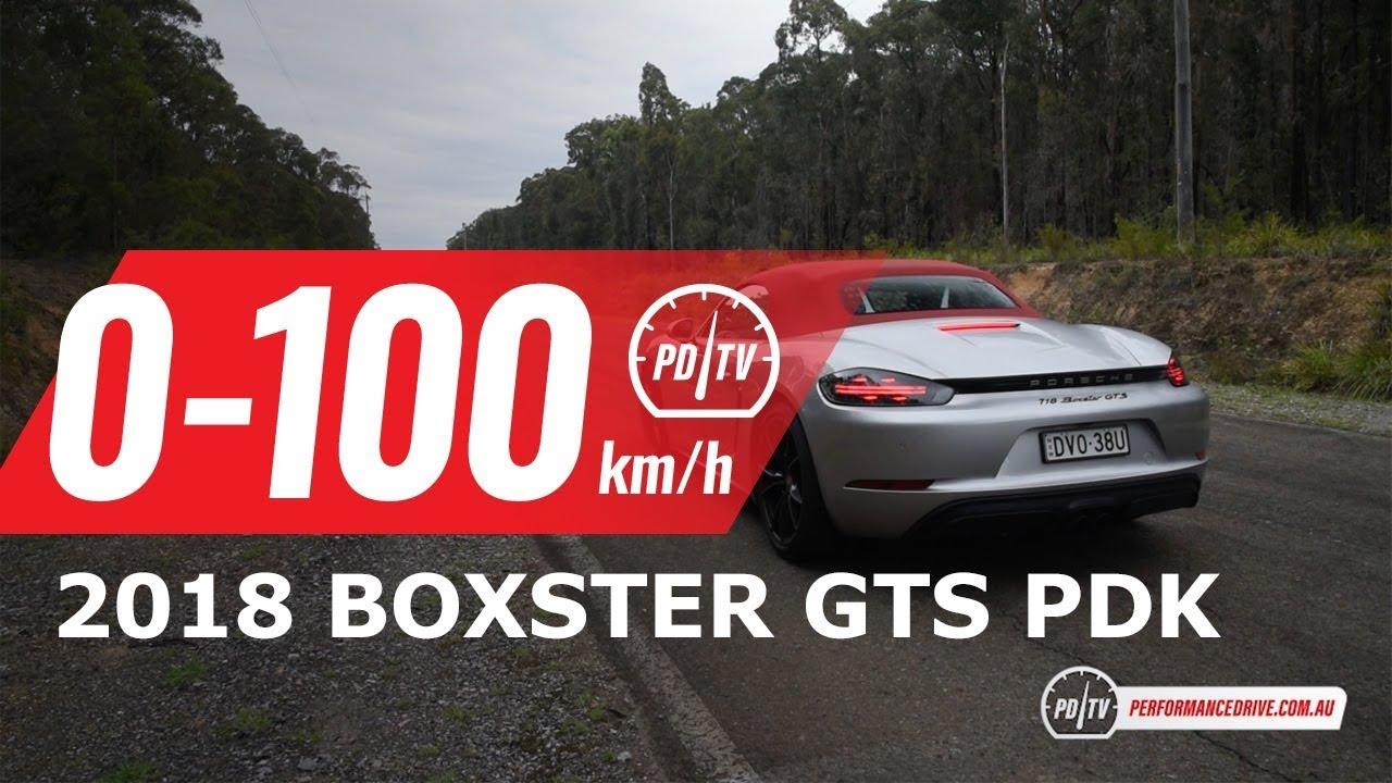 2018 Porsche 718 Boxster Gts 0 100kmh Engine Sound