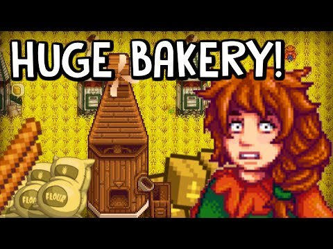 🥖Flour And Bread Project!🥖 - *INSANE BAKERY!* - Stardew Valley Farm Project