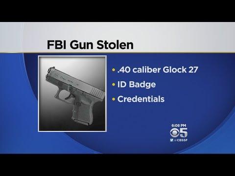 FBI Agent's Gun Stolen From Car In San Francisco