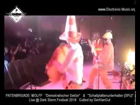 Dark Storm Festival 2016, Chemnitz: PATENBRIGADE: WOLFF (P:W) Live