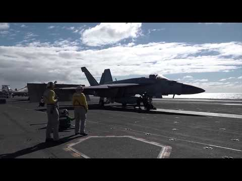 10 Minutes of Aircraft Carrier Operations - USS Ronald Reagan
