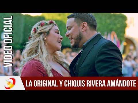 La Original Banda El Limón ft Chiquis Rivera - Amándote (Video Oficial)