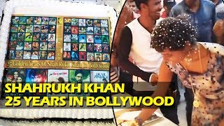 Video - FANS Celebrate Shahrukh's 25 Golden Years In Bollywood