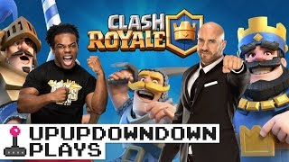 CESARO & Austin claim their crowns as KINGS of CLASH ROYALE! — UpUpDownDown Plays