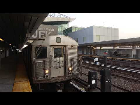 NYC Subway (IND) West 4th Tower to JFK AirTrain pt.2/8