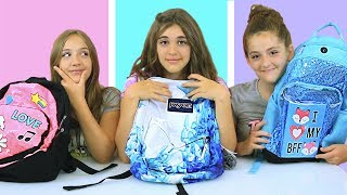 Back To SCHOOL Supplies VS SLIME Ingredients Challenge