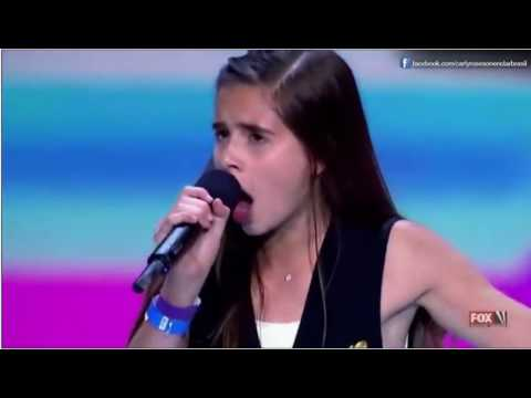 """Carly Rose Sonenclar, 13, First Audition Shocks All! Awesome! 