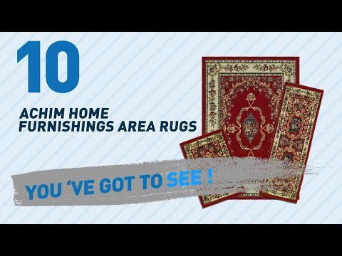 Achim Home Furnishings Area Rugs // Top 10 Best Sellers