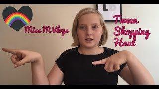Tween Shopping Haul - Primark, Poundland, Boots, Superdrug (Miss M Vlogs)