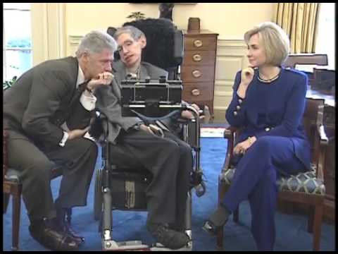 Image result for hawking clinton
