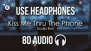 Download lagu Soulja Boy ft. Sammie - Kiss Me Thru The Phone (8D AUDIO)