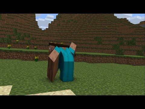 Minecraft In A Nutshell But It's Poorly Made Using Mine-imator