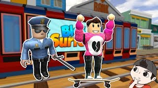SUBWAY SURFERS IN ROBLOX Roblox Cerso in Spanish