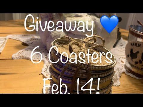DIY Farmhouse Mason(Ball) Jar Lid Coasters: Dream 3 💙