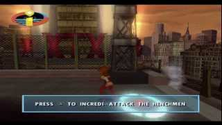 PS2 Game: The Incredibles P1