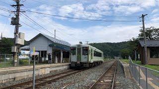 上米内駅 JR山田線(盛岡方面)