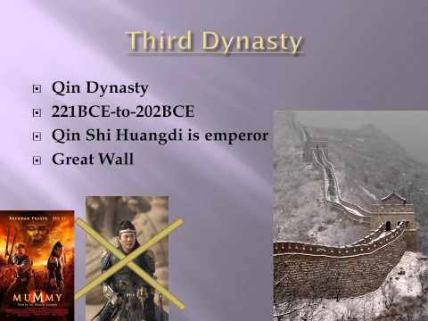 Dynasties of Ancient China video