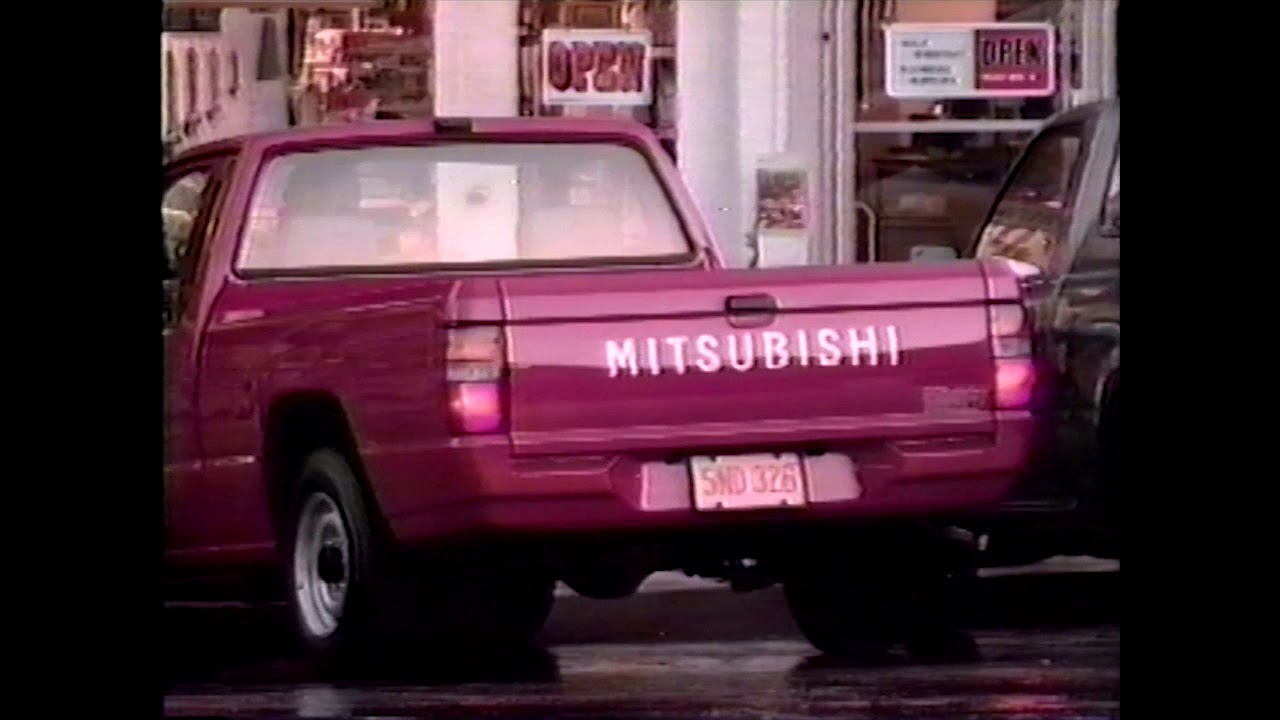 1990 Mitsubishi Mighty Max Commercial (1989-90) [Incomplete]