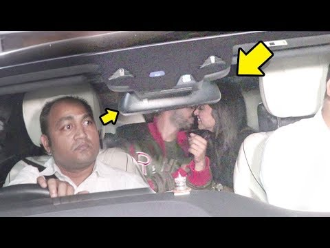 Bollywood Viral Video | Ranveer & Deepika KISSING In Car In Front Of Media thumbnail
