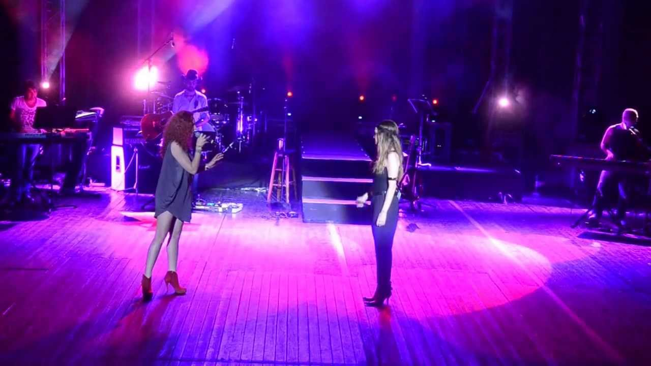 Άννα Βίσση & Εβελίνα Παπούλια - Ίσως Είμαστε Το Ίδιο, Λάρνακα (29/07/2013)