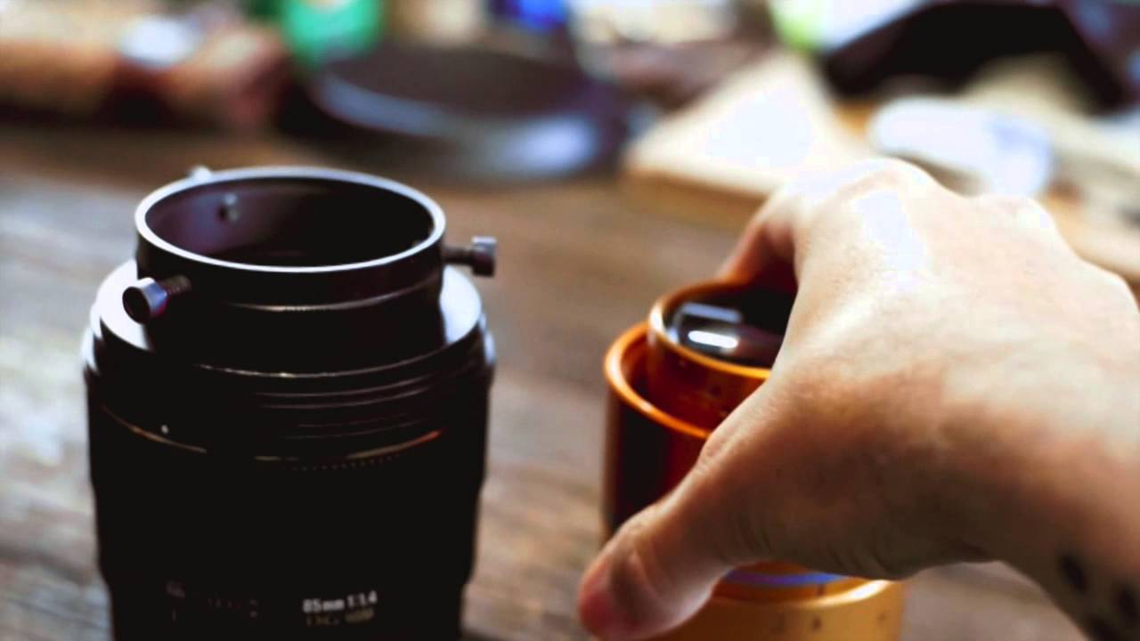 shooting with anamorphic lens dslr camera tutorial for creative