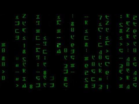 Matrix Digital Green Rain | HD Relaxing Screensaver
