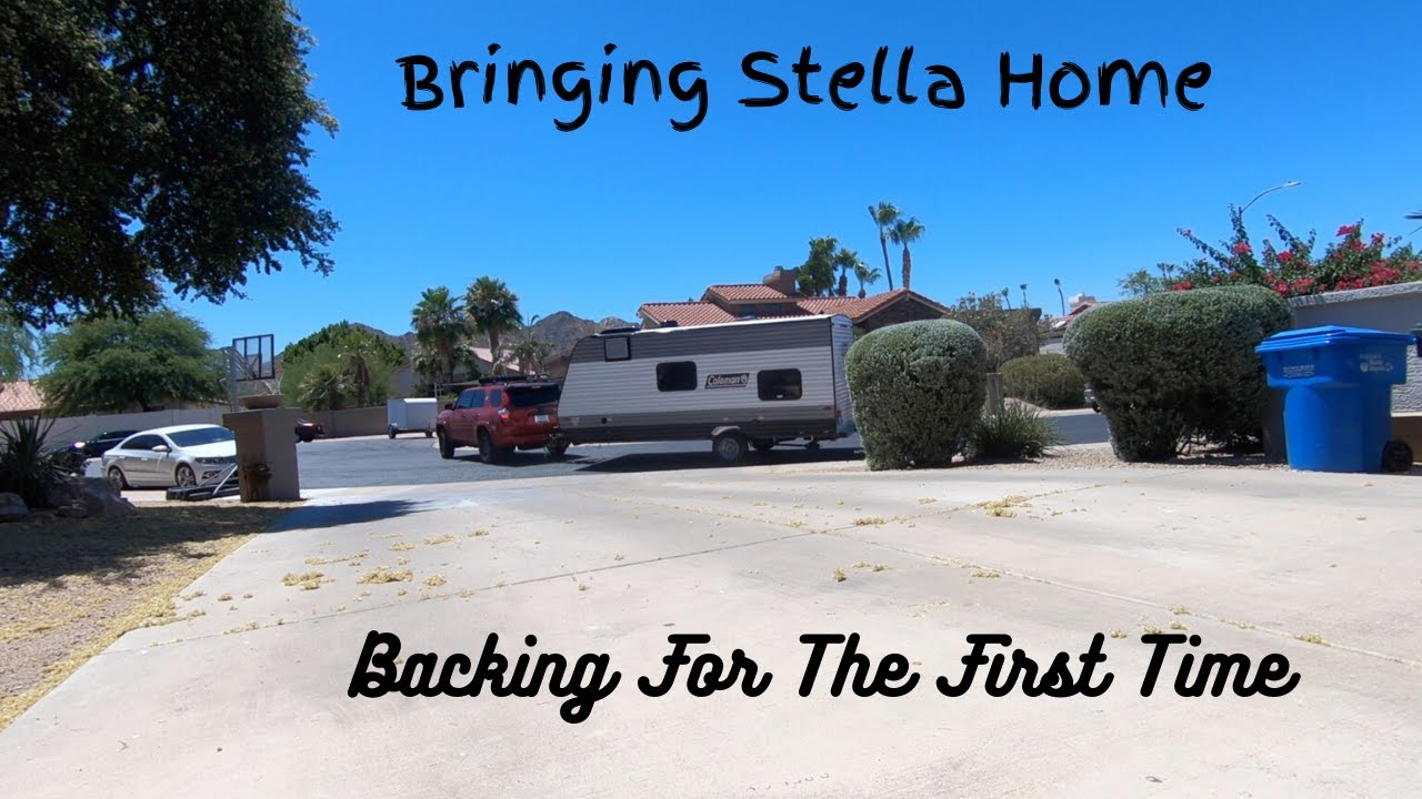 Bringing Home Stella (our 2021 Coleman Lantern LT 17B) and ...
