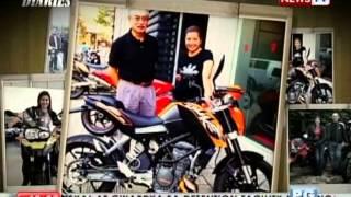 Paano nahilig si Kara David sa mga motorsiklo?
