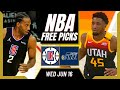 Free NBA Picks Today | Clippers vs Jazz (6/16/21) NBA Best Bets and NBA Predictions