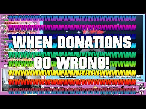 WWWWWWWWWWWWWWWWW (When Donations Go Wrong)