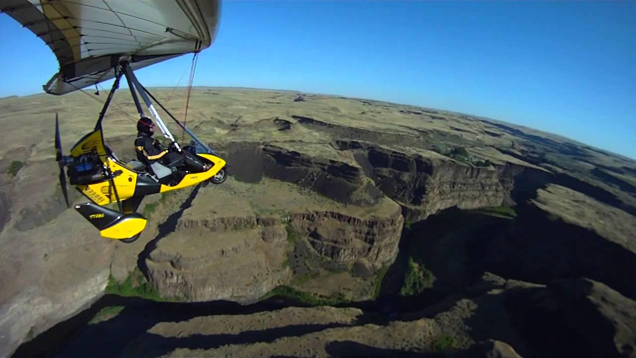 Palouse Falls Washington State Flying Youtube
