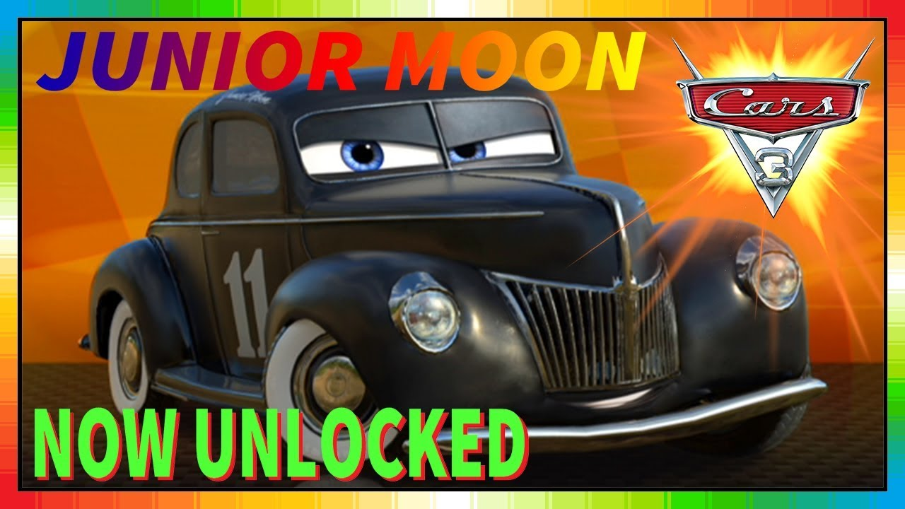Cars 3 Driven To Win Gameplay Junior Moon