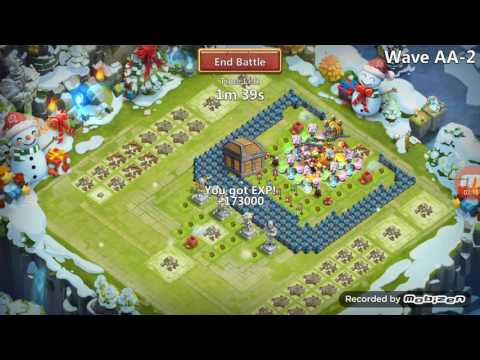 Castle Clash:How To Win Hbm AA (best Base)