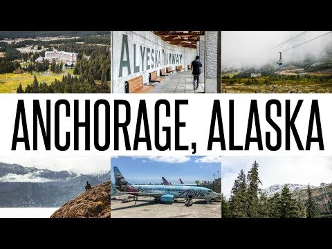 OUR FIRST TIME VISITING ANCHORAGE, ALASKA