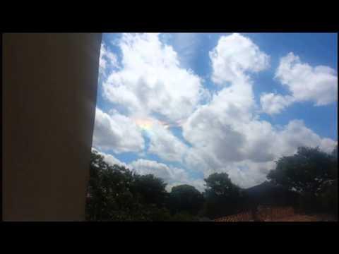Extraño fenómeno en el cielo de Paraguay