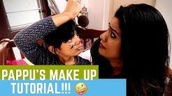 Pappu's Make Up tutorial | Ag Vlogs Epi 52 | Amritha Suresh | Abhirami Suresh | Pappu