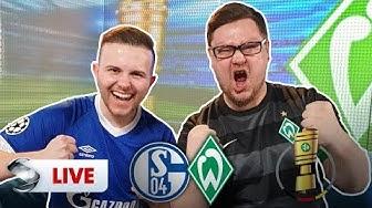 DFB-Pokal, Schalke gegen Werder Bremen: Gamerbrother und Kalle kommentieren | Sportschau