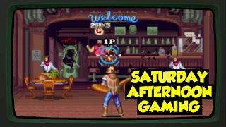 Wild Guns (SNES) - A Futuristic Robo-Cowboy Action Bloodbath! - Saturday Afternoon Gaming