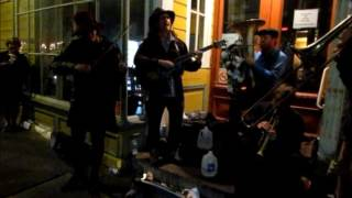 'The Big Dawg Slingshots' Play Two Songs LIVE @ 632 Frenchmen St, New Orleans, 3-17-2017