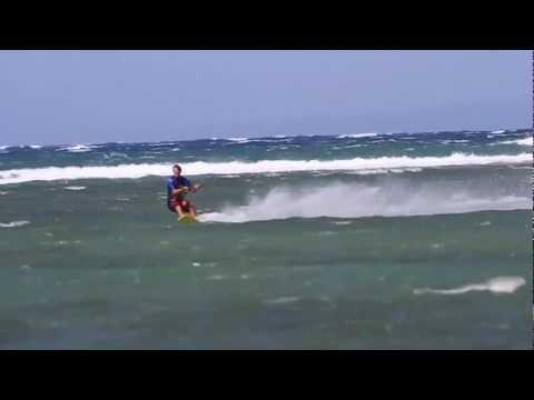 0 Kiteboarders Break Hawaiian Speed Sailing Records