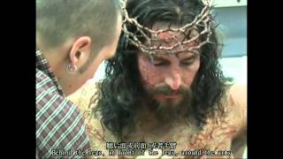 [JC喵字幕组]Making of Passion of Christ- Jim Caviezel Part Clip